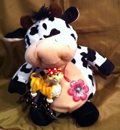 Need a bovine chuckle? Blossom has a new story